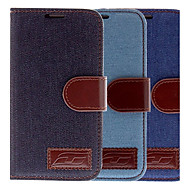 Jean Design pu Leather Full Body Case for Samsung Galaxy S4 I9500