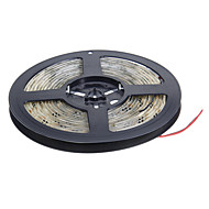 Waterproof 5M 60W 60x5050SMD 3000-3600LM  3000-3500K Warm White light LED Strip Light (DC12V)
