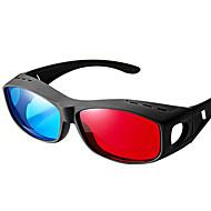 bilgisayar tv mobil için yan miyopi 3d gözlük ile reedoon genel kırmızı, mavi tarafı