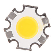 3W COB 280-320LM 3000K Warm White Light LED Chip (9-11V,300uA)
