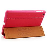 Special Design PU Leather Case with Stand for iPad mini 3, iPad mini 2, iPad mini