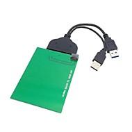 """USB 3.0 til SATA 22pin 2,5 """"harddisk til wd5000mpck SFF-8784 sata udtrykker SSD adapter 0,2 0.6ft"""