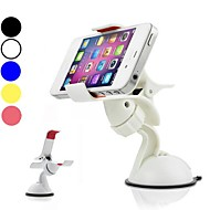 DF 5 Colors Universal 360 Degree Rotation Windshield Car Mount Holder for iPhone and Other Phones (Assorted Color)