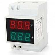 LED numérique double affichage ferroviaire AC ampèremètre voltmètre la tension actuelle de 0,2 99.9A