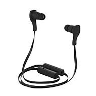 auscultadores Bluetooth v3.0 neckband estéreo sem fio com o esporte de microfone para iphone 6 / iphone 6 mais (preto)