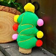 애완 동물 개를위한 크리스마스 파티 인형 삐걱 거리는 장난감 (크리스마스 트리)