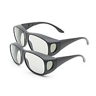 m&k általában polarizált fény mintás retarder sűrűsödik 3D-s szemüveg tv (2db)