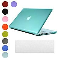 Дело прозрачный дизайн ПК Жесткий с клавиатуры Обложка кожи для MacBook Pro (разных цветов)