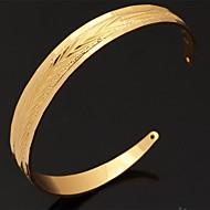 u7® vintage narukvica za žene muškarce 18k real zlato ispunjen platine pozlaćen narukvice Bangles