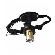shibaojia ® pannlampa 3-mode cree q5 td-02 justerbar fokus vattentät uppladdningsbara 2 batterier 1 ac laddning