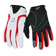 Activiteit/Sport Handschoenen Wielrennen/Fietsen Heren Lange Vinger Anti-Slip Voorjaar Zwart S-BOODUN
