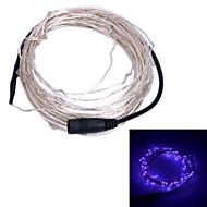 xinyuanyang® 6w 100-0603 SMD llevó púrpura luz de la secuencia de luz - plata + negro (12V DC / 1000cm)