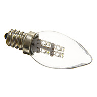 Luces LED en Vela Decorativa C35 E12 0.5W 3 15-20 LM Blanco Natural AC 100-240 V