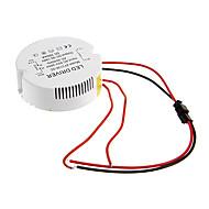 0.3A 31-36w dc 90-140v al driver costante di alimentazione CA 85-265V circolare esterna di corrente per plafoniera led