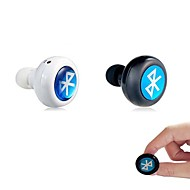 hovedtelefon Bluetooth 3.0 in-ear øretelefon headset med mikrofon til iPhone 6/6 plus samsung laptop tablet