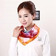 nova mancha estilo de pintura chegada lenço quadrado uniforme das mulheres