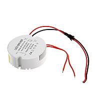 0.3A 15-18w dc 40-70v al driver costante di alimentazione CA 85-265V circolare esterna di corrente per plafoniera led