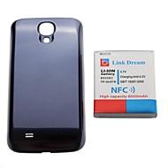 Link Traum verdickt Handy-Akku mit NFC + blau zurück Cover für Samsung Galaxy S4 i9500 (6000mAh)