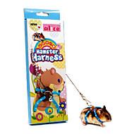 Hamster/Small Animal Adjustable Durable Leash/Harness-Blue/Pink