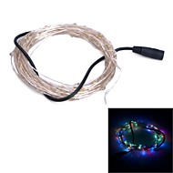 Xinyuanyang® 6W 100x0603 SMD RGB Light LED Flexible Strip Lamp - copper + Black (DC 12V/1000cm)