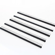 40-Pin 2.54mm Pitch Pin Headers (5 PCS)