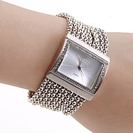 Women's Watch Czechic Diamond Dial Silver Bracelet
