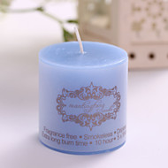 Classic Cylindrical Smokeless Scented Candles Romantic Valentine'S Day 5*5Cm