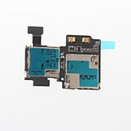 Cell Phone SIM Card Reader Holder Slot Flex Cable Ribbon For Samsung Galaxy S4 i9500