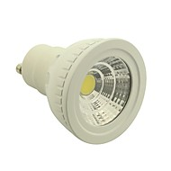 GU10 4.5 W 1 COB 400-450LM LM Natural White Dimmable Spot Lights AC 85-265 V