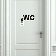Wall Stickers Wall Decals,  Modern Decoration workers PVC Wall Stickers