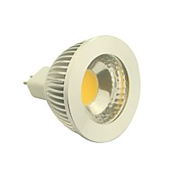 GU5.3 4.5 W 1 COB 400-450LM LM Warm White Dimmable Spot Lights DC 12 V