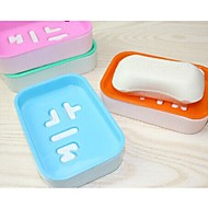 Soap Dishes Shower Plastik Çevre Dostu / Hediye