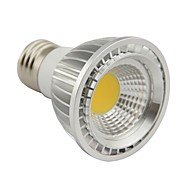 E26/E27 5W 1 COB 500LM LM Warm White PAR20 Dimmable LED Par Lights AC 220-240 V