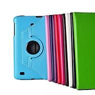 """8 """"caso del soporte del patrón de Lichee rotación de 360 grados para la tableta LG-V480 (colores surtidos)"""