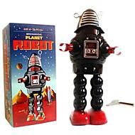 tin roby robotten vind-up legetøj til indsamling