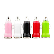 Car Charger for iPhone and Other Electronics (Assorted Color, 5V 1A)