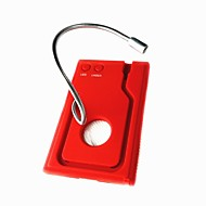 Flexible Neck 2 LED Flashlight / Simple Opening Tool / Laser / Magnifier Red