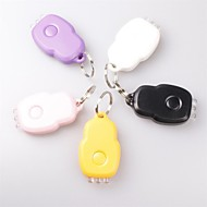 Lights 1 Key Chain Flashlights Rechargeable Everyday Use / Working Plastic