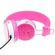 WZS auriculares de 3,5 mm sobre la oreja ergonómico estéreo de alta fidelidad con micrófono con anulación de ruido para el teléfono móvil