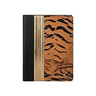 LES SMORE® Wild PU Leather&Genuine Leather Case for iPad Air