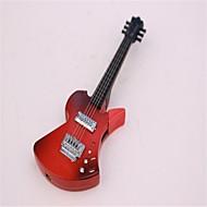 adultes noirs et rouges guitare métal briquets jouets