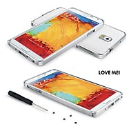Love Mei Ultrathin Alloy Bumper Curved Edge Metal Case Cover for SAMSUNG GALAXY NOTE3(Assorted Colors)