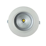 12 W 1 COB 1000 LM Warm White/Cool White Recessed Lights AC 85-265 V