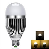 9W E26/E27 LED Globe Bulbs 24 SMD 5730 100-900 lm Warm White Dimmable / Remote-Controlled AC 85-265 V