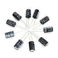 קבל אלקטרוליטי 35V / אלומיניום 470uf DIY - שחור (10pcs)