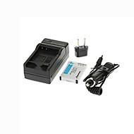 ismartdigi-nik EN-EL12 (1050mAh, 3.7V) câmera bateria + EU Plug + carregador de carro para Nikon S8200 S9100 S6000 S6200 S6300 S8100