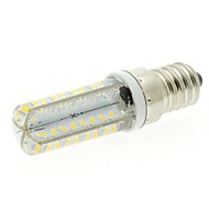 E14 4w은 72x3014 SMD 실리카겔 커버 240LM 따뜻한 흰색 빛 3000K 옥수수 LED 전구 (AC 220-240V)