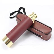 Brass 25X30 Compact Pocket-Sized Telescope Mini Pirate Spyglass Nautical