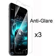 3 x Matte Anti Glare Screen Protector with Cleaning Cloth for iPhone 6S/6 Plus