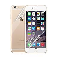 edessä ja takana HD näytönsuoja iPhone 6s plus / 6 plus (5kpl)